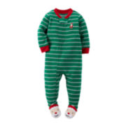 Carter's® Fleece Santa Pajamas - Toddler Boys 2t-5t