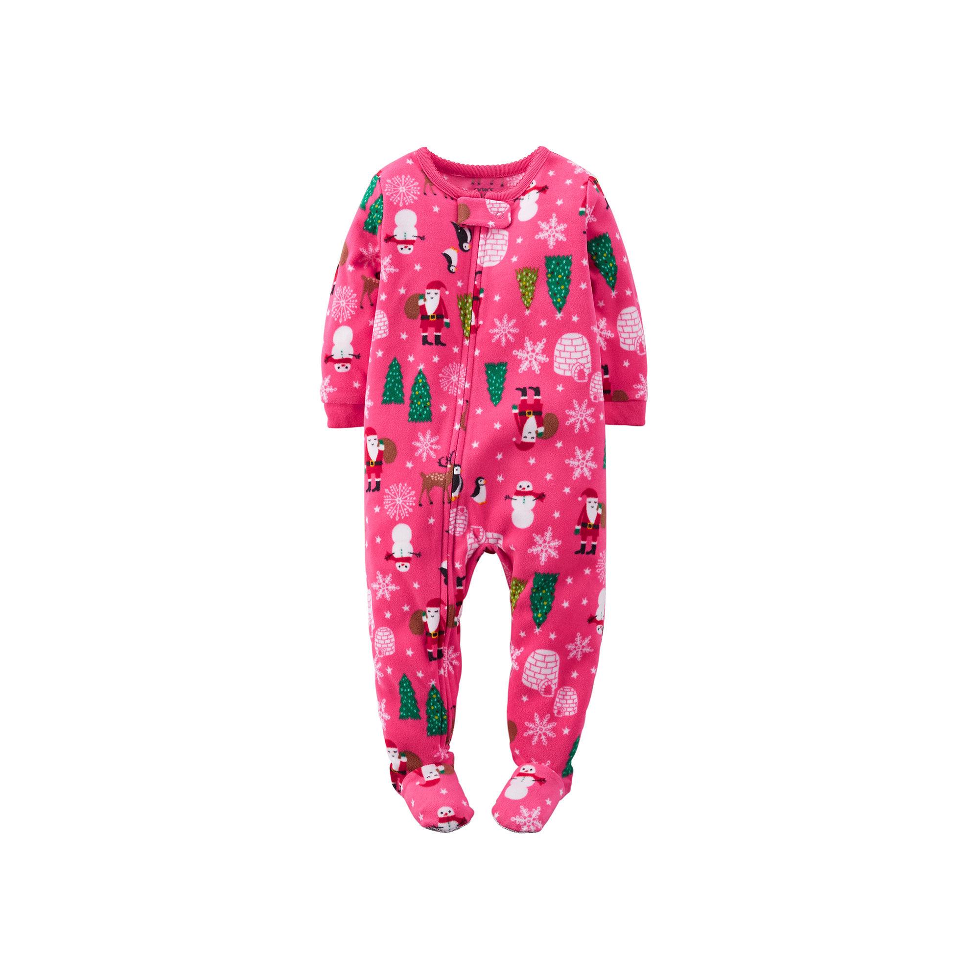 8af50bbafe1b UPC 888510803911 - Carter s Fleece Santa-Print Pajamas - Toddler ...
