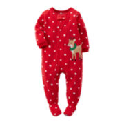 Carter's® Fleece Reindeer Pajamas - Toddler Girls 2t-5t