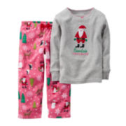 Carter's® Santa's Favorite Pajamas - Toddler Girls 2t-5t