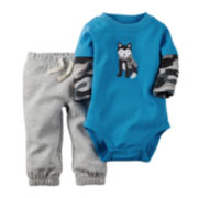 Carter's® Bodysuit and Pants - Baby Boys newborn-24m
