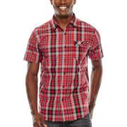 Ecko Unltd.® Confront Short-Sleeve Woven Shirt