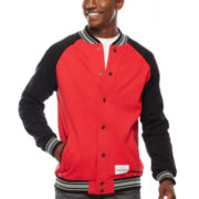 Ecko Unltd.® Varsity Fleece Bomber Jacket
