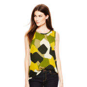 Joe Fresh™ Sleeveless Print Shell