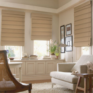 jcpenney.com | JCPenney Home™ Custom Savannah Roman Shade - FREE SWATCH