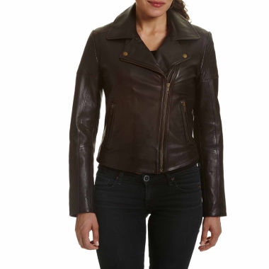 jcpenney.com | Excelled® Classic Leather Moto Jacket