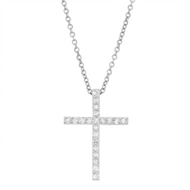 jcpenney.com | Womens 1/3 CT. T.W. White Diamond 10K Gold Pendant Necklace