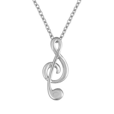 jcpenney.com | Womens White Diamond Accent Pendant Necklace
