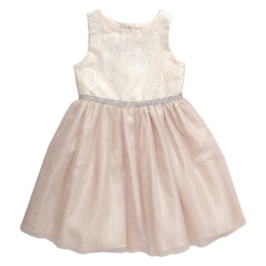 jcpenney.com | Young Land Short Sleeve Party Dress - Preschool