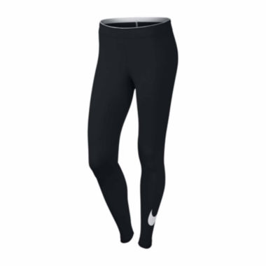 jcpenney.com | Nike® Club Mid-Rise Swoosh Leggings