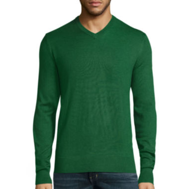 jcpenney.com | St. John's Bay® Long-Sleeve Fine-Gauge Sweater
