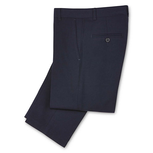 IZOD® Navy Twill Pants - Boys 8-20