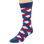 HS® by Happy Socks Wide Plaid Socks