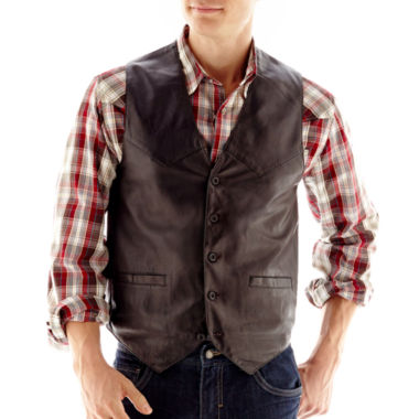 jcpenney.com | Excelled® Lambskin Leather Vest