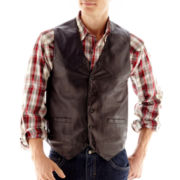 Excell Lambskin Leather Vest