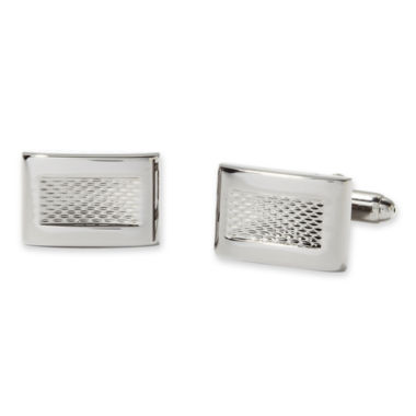 jcpenney.com | Textured Rectangle Cuff Links