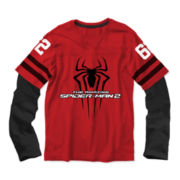 Spider-Man Long-Sleeve Graphic Knit Tee – Boys 6-18