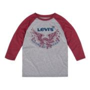 Levi's® 3/4-Sleeve Raglan Tee - Boys 8-20