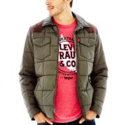 Levi's® Faux-Suede Western Shirt Jacket
