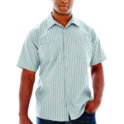 Red Kap® SP20 Micro-Check Uniform Shirt–Big & Tall