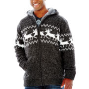 i jeans by Buffalo Lalbeck Sherpa Sweater–Big & Tall