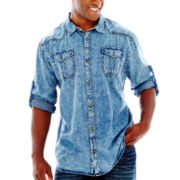 i jeans by Buffalo Mobidic Long–Sleeve Woven Shirt–Big & Tall