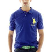 U.S. Polo Assn.® Big Pony Solid Piqué Polo