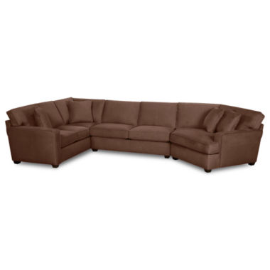 jcpenney.com | Fabric Possibilities Track-Arm 3-pc. Left-Arm Corner Sofa Sectional