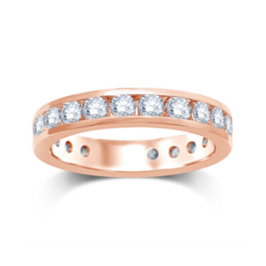 jcpenney.com | 2 CT. T.W. Diamond 14K Rose Gold Eternity Wedding Band