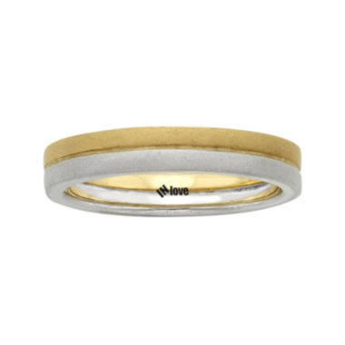 jcpenney.com | IN Love 14K Two-Tone Gold Wedding Band