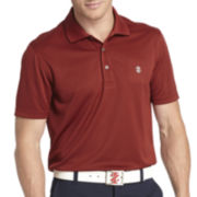 IZOD® Golf Short-Sleeve Grid Polo