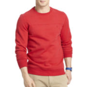 IZOD® Sueded Fleece Crewneck