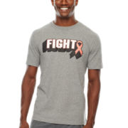 Xersion™ Fight Ribbon Graphic Tee