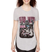 Star Wars™ Short-Sleeve Side-Slit Tunic T-Shirt