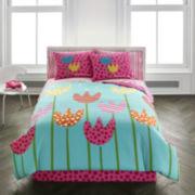 Agatha Ruiz De La Prada Cutie Tulips Comforter Set & Accessories