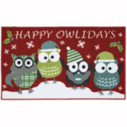 Mohawk Home® Happy Owlidays Holiday Rug