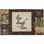 Mohawk Home® Live and Laugh Washable Kitchen Rug