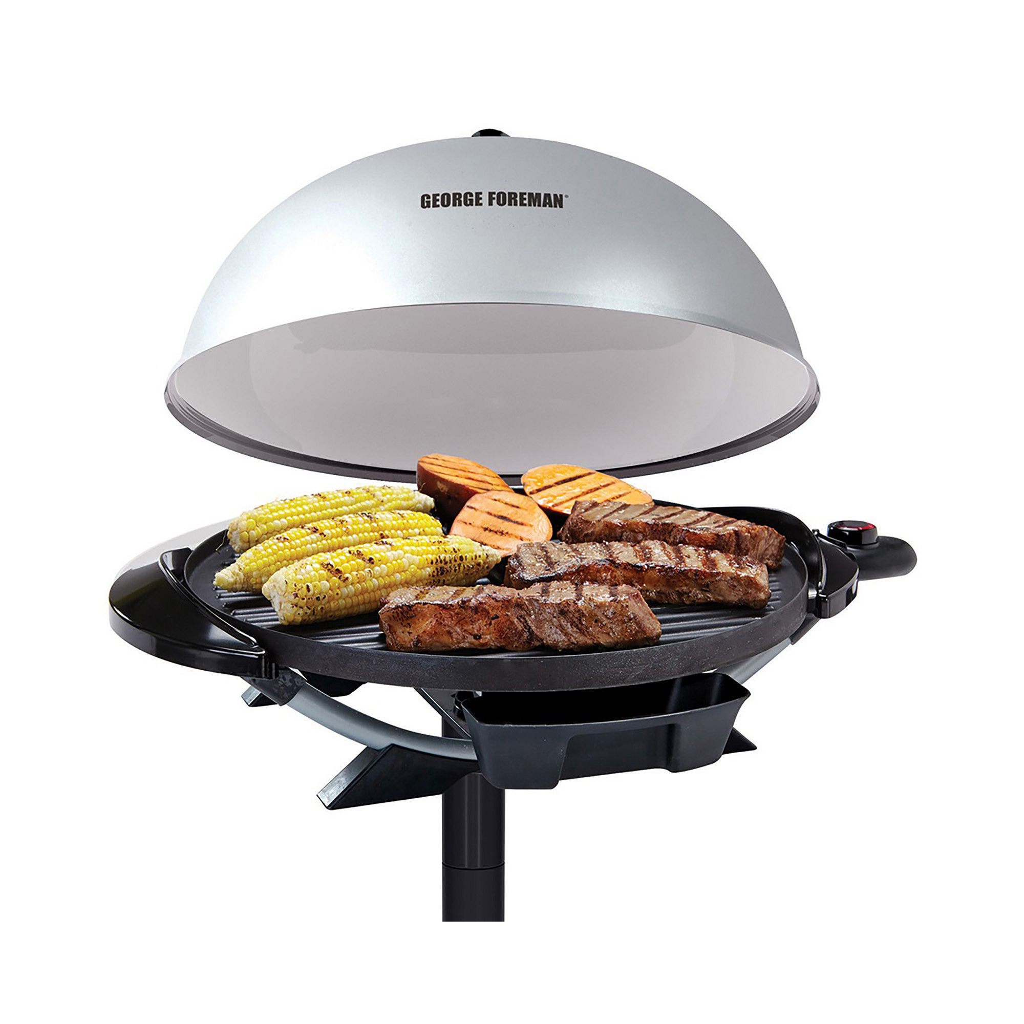 George foreman gr31sb jumbo stainless steel indoor electric grill b000q4i5ru find it at shopwiki - Buy george foreman grill ...