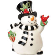 Fitz and Floyd® Frosty's Frolic Snowman Cookie Jar