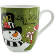 Fitz and Floyd® Frosty's Frolic Snowman Set of 2 Mugs