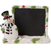 Fitz and Floyd® Frosty's Frolic Snowman Chalkboard
