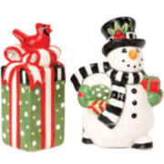 Fitz and Floyd® Frosty's Frolic Snowman Salt and Pepper Shakers