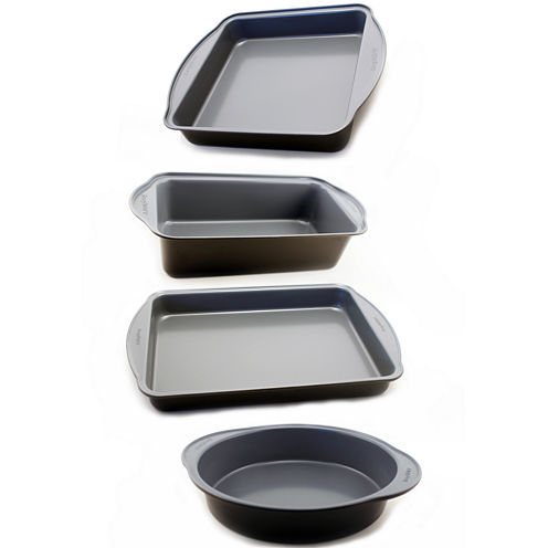 BergHOFF® EarthChef 4-pc. Nonstick Cake and Loaf Pan Set