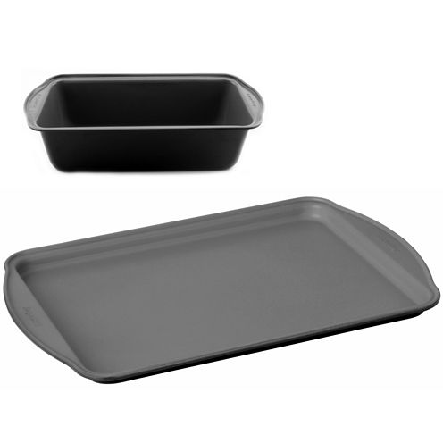 BergHOFF® EarthChef 2-pc. Nonstick Cake Pan and Cookie Sheet Set