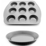 BergHOFF® EarthChef 2-pc. Nonstick Pie and Muffin Pan Set