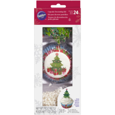 jcpenney.com | Wilton® Christmas Tree Cupcake Decorating Kit