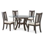 Porter 5-pc. Round Dining Set