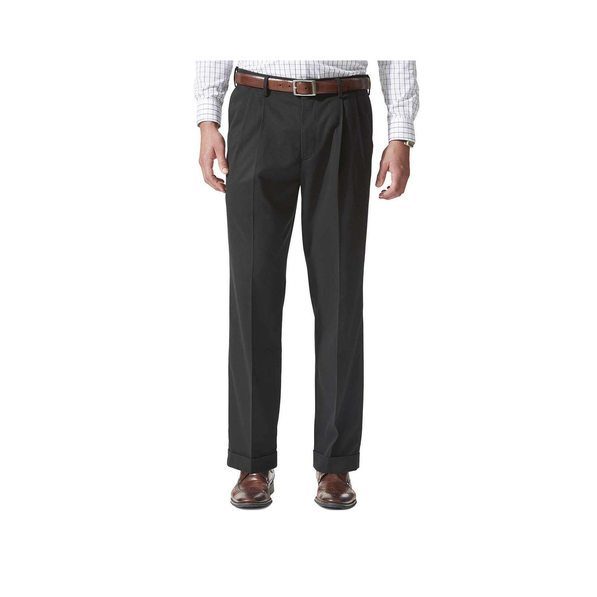 Dockers Comfort Khaki Relaxed Pleated Pants