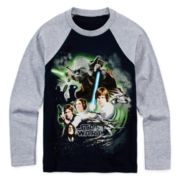 Star Wars™ Graphic Raglan Tee - Preschool Boys 4-7