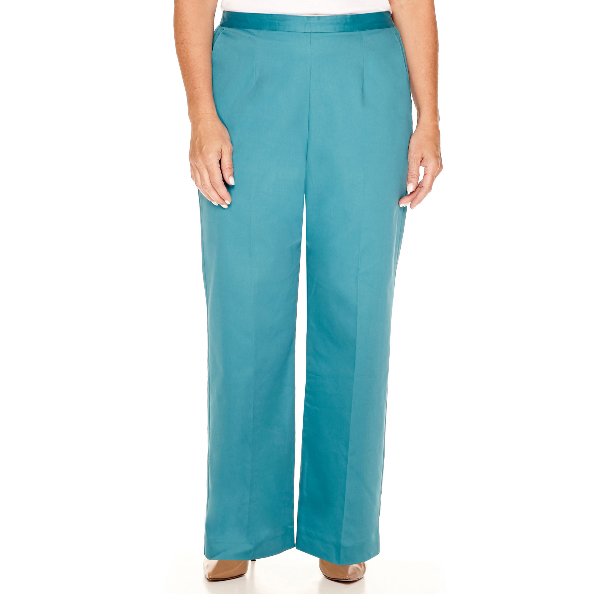 Alfred Dunner Colorado Springs Pull-On Pants - Plus